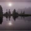 Adirondacks Newcomb Lake Morning Mist 28 July 2017
