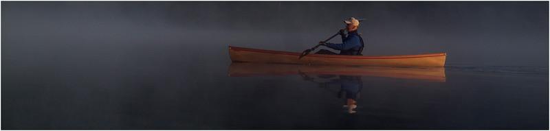 Adirondacks Forked Lake July 2015 Morning Mist After Sunrise Tom Curley 1