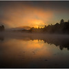 Adirondacks Lake Rondaxe Sunrise 7 July 2016