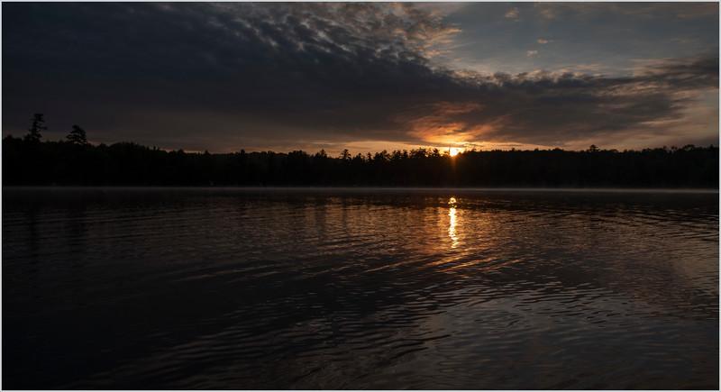 Adirondacks Lake Eaton Morning 4 July 2019
