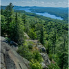 Adirondacks Bald Mountain Fourh Lake from Firetower 1 July 2016