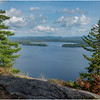 Adirondacks Lake Lila LEAG from Mt Frederica 1 August 2019