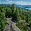 Adirondacks Bald Mountain Fourth Lake from Firetower 2 July 2016