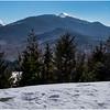 Adirondacks Mt  Colden and Algonquin Peak from Mt  Jo 1 February 2017