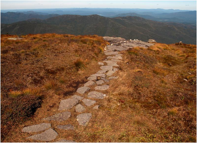 Adirondacks Algonquin Alpine Lawn Summit Trail September 2010