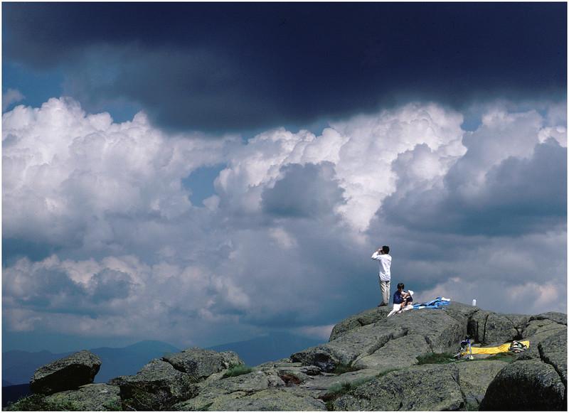 Adirondacks Summit of Algonquin Peak circa 1980