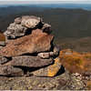Adirondacks Algonquin Summit Alpine Lawn LookingSouth Iroquois Rock Cairn September 2010