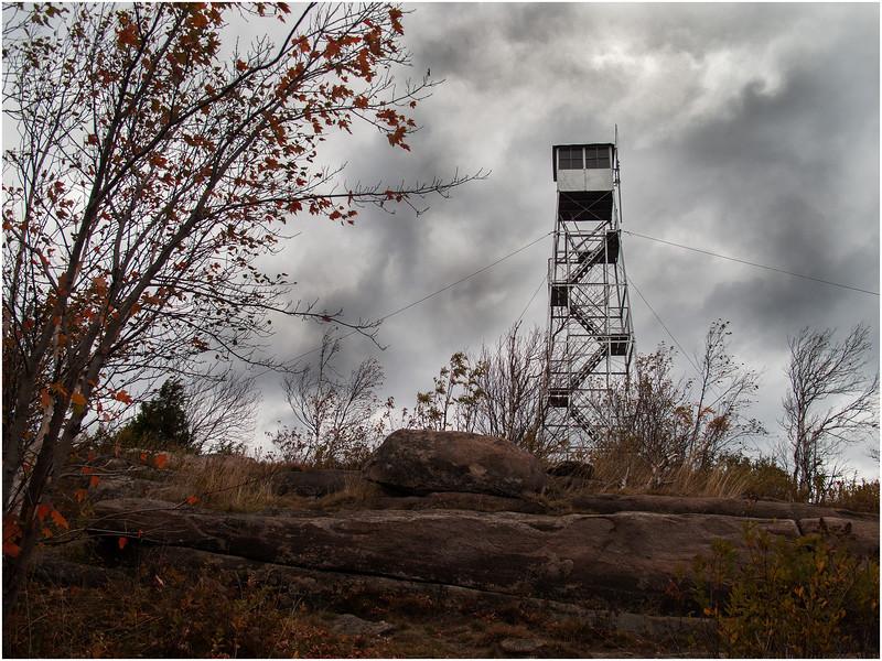 Adirondacks Hadley Mountain Firetower September 2010