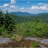 Adirondacks Coney Mountain View 1 July 2017