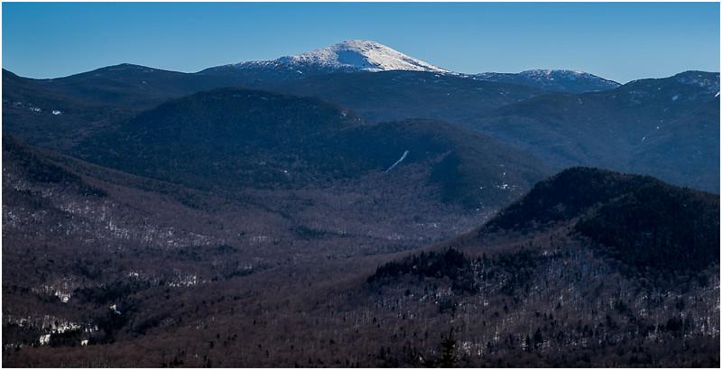 Adirondacks Mt  Marcy from Mt  Jo 1 February 2017