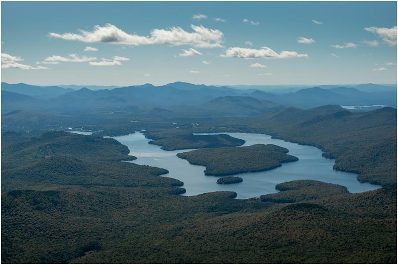 Adirondacks Whiteface Mt  Lake Placid 3 September 2019
