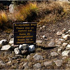 Adirondacks Algonquin Summit Alpine Lawn Revegetation Area Sign September 2010