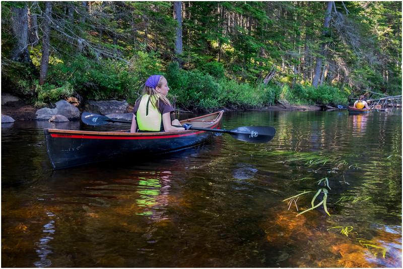 Adirondacks Forked Lake Jenna Kim into the Wetlands 9 July 2017