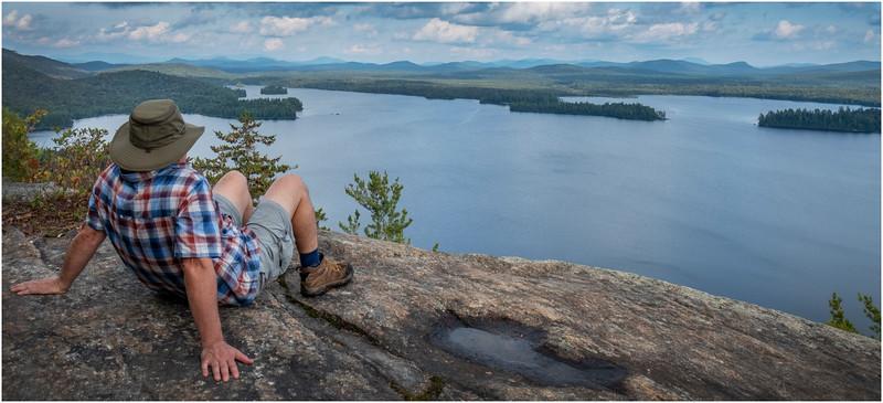 Adirondacks Lake Lila LEAG from Mt Frederica Rick Davidson 13 August 2019