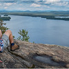 Adirondacks Lake Lila LEAG from Mt Frederica Rick Davidson 13 August 2019