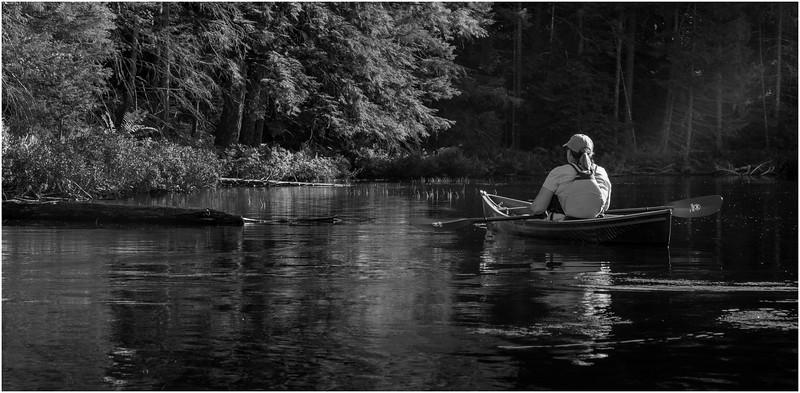 Adirondacks Nicks Lake 15 BW September 2019