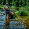 Adirondacks St Regis Kim Pullig Boat Between Slang and Turtle Ponds 3 July 2009
