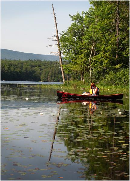 Adirondacks Blue Mountain Lake kim in Islands July 2011