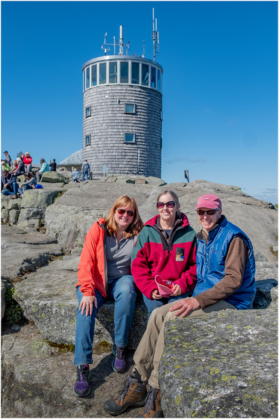 Adirondacks Whiteface Mt  Todd and Jen and Kim 4 September 2019