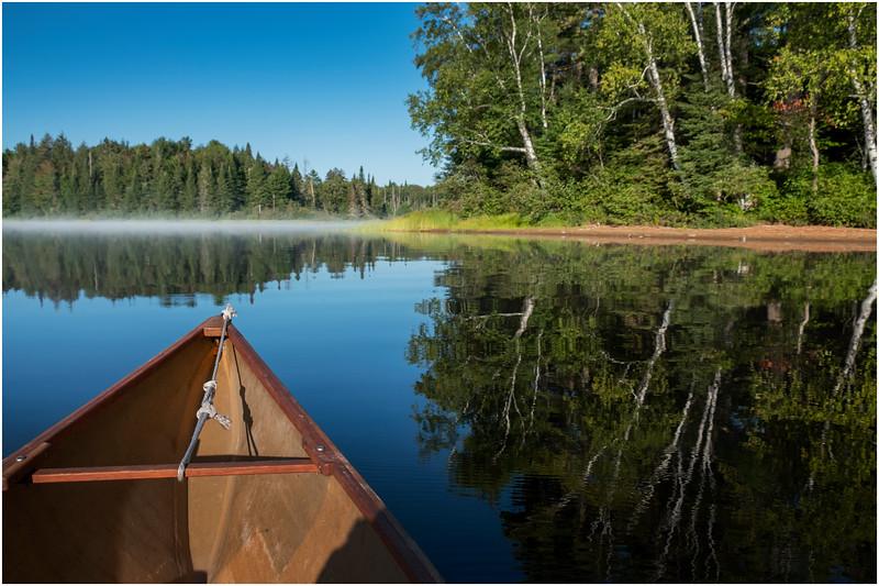 Adirondacks Rollins Pond Morning 37 August 2019