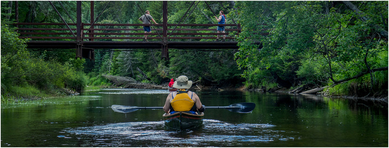 Adirondacks North Branch Moose River Kim Paddling 1 July 2016
