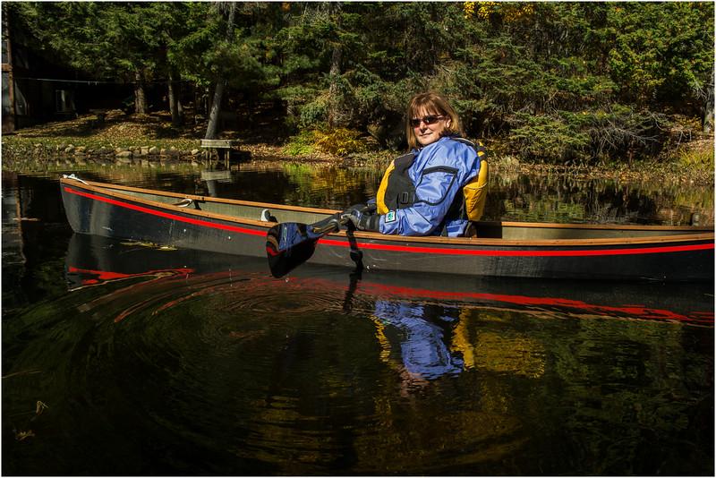 Adirondacks Lake Abanakee October 2015 Kim 1