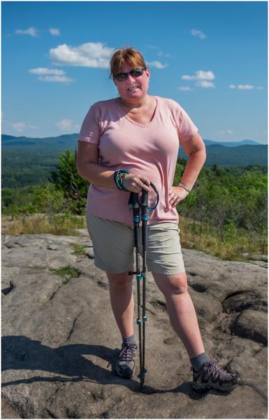 Adirondacks Coney Mountain Kim 1 July 2017