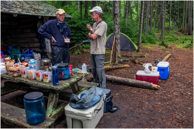 Adirondacks Newcomb Lake Ward Brook Pond LeanTo Campsite Rick Mills Dan Way July 2017