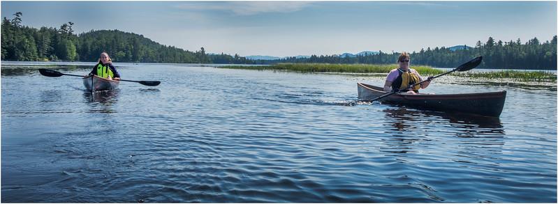 Adirondacks Forked Lake Jenna Kim into the Wetlands 5 July 2017