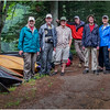 Adirondacks Newcomb Lake LEAG Members with Hornbecks 1 July 2017