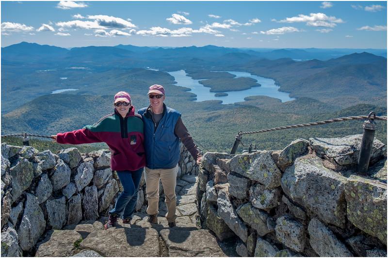Adirondacks Whiteface Mt  Todd and Jen 1 September 2019