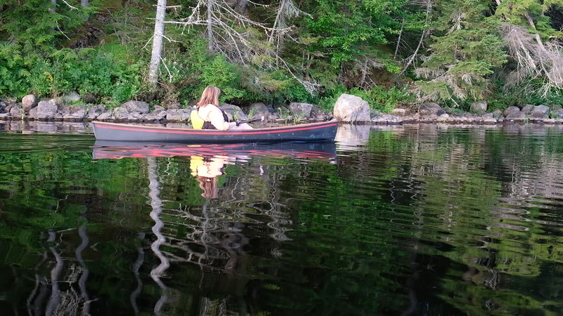 Adirondacks Round Lake Paddling video 4 August 2019