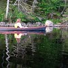 Adirondacks Round Lake Paddling video 4 August 2019