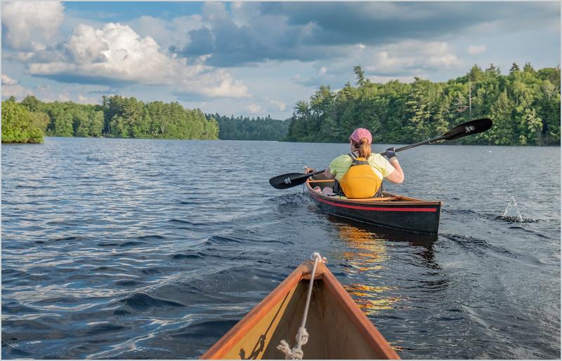 Adirondacks Rollins Pond Kim 19 July 2019