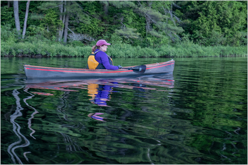 Adirondacks Rollins Pond Kim 7 July 2019