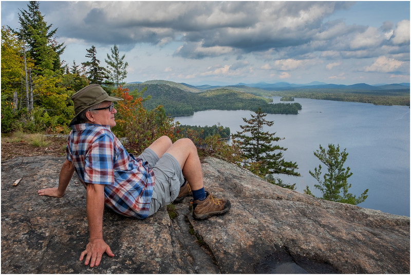 Adirondacks Lake Lila LEAG from Mt Frederica Rick Davidson 11 August 2019