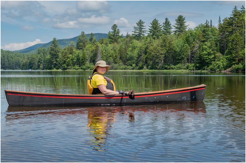 Adirondacks Grampus Lake 5 Kim July 2019