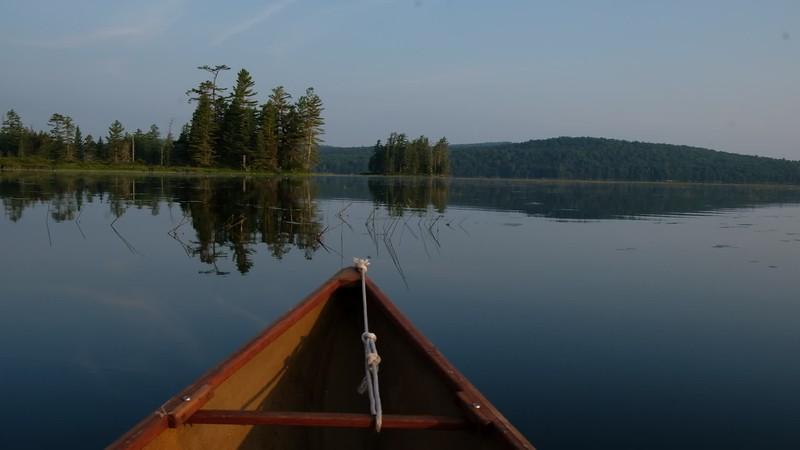Adirondacks Round Lake Paddling video 3 August 2019