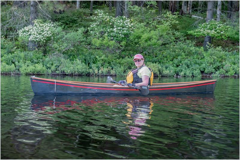 Adirondacks Rollins Pond Kim 14 July 2019
