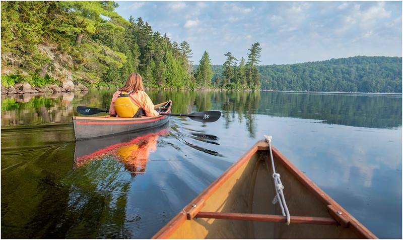 Adirondacks Round Lake Morning 28 August 2019
