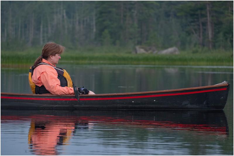 Adirondacks Bog River Morning 5 July 2019