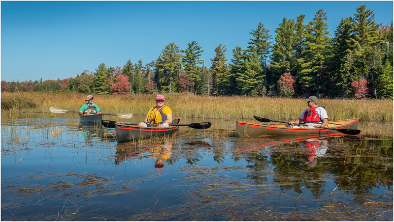 Adirondacks Moose River 1 Bill Brown, Kim, Rick Conney September 2019