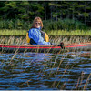 Adirondacks Cedar River Flow Kim Paddling in Reeds September 24 2016