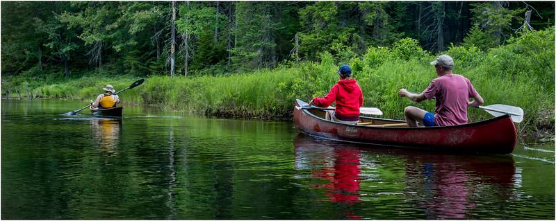 Adirondacks North Branch Moose River Kim, Jennifer and Todd 1 July 2016