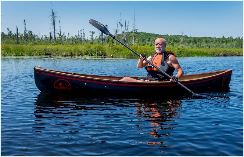 Adirondacks Forked Lake Jenna Kim into the Wetlands 14 July 2017