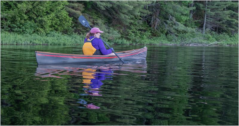Adirondacks Rollins Pond Kim 8 July 2019