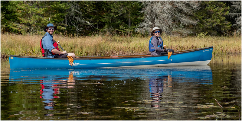 Adirondacks Bog River Paddle HBL 10 Patrick Holcomb, Cassie Carreras September 2019
