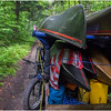 Adirondacks Newcomb Lake Horse Transportation 4 July 2017
