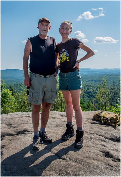 Adirondacks Coney Mountain Tom Jenna 1 July 2017