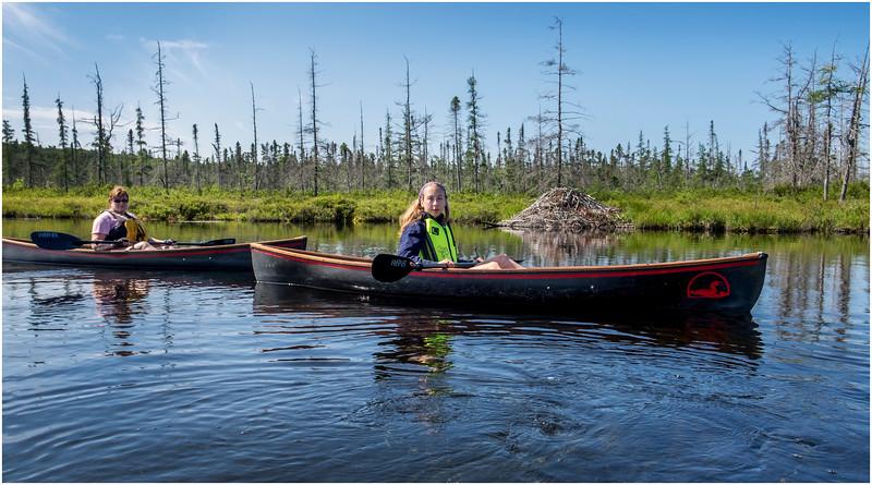 Adirondacks Forked Lake Jenna Kim into the Wetlands 7 July 2017